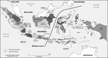 Indonesia - Wallace Line
