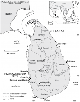 Sri Lanka - Provinces