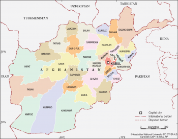 Afghanistan - Provinces