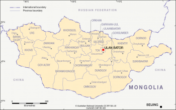 Provinces of Mongolia