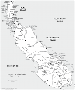 Buka and Bougainville Islands