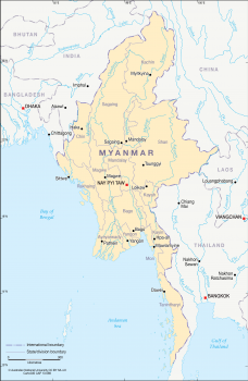 Myanmar rivers - 2012