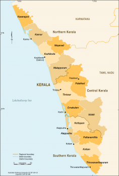 Kerala District, India