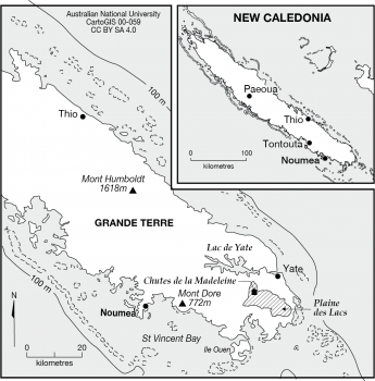 New Caledonia - south