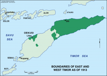 East and West Timor - 1913