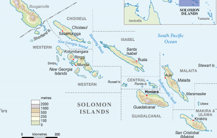 solomon islands provinces