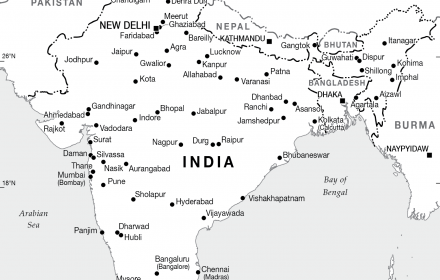 indore india map