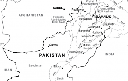 Image Result For Pakistan On Map