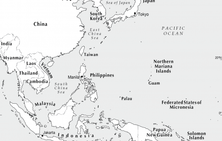 Map Of Southeast Asia Japan And Malaysia.Se Asia To West Pacific Cartogis Services Maps Online Anu