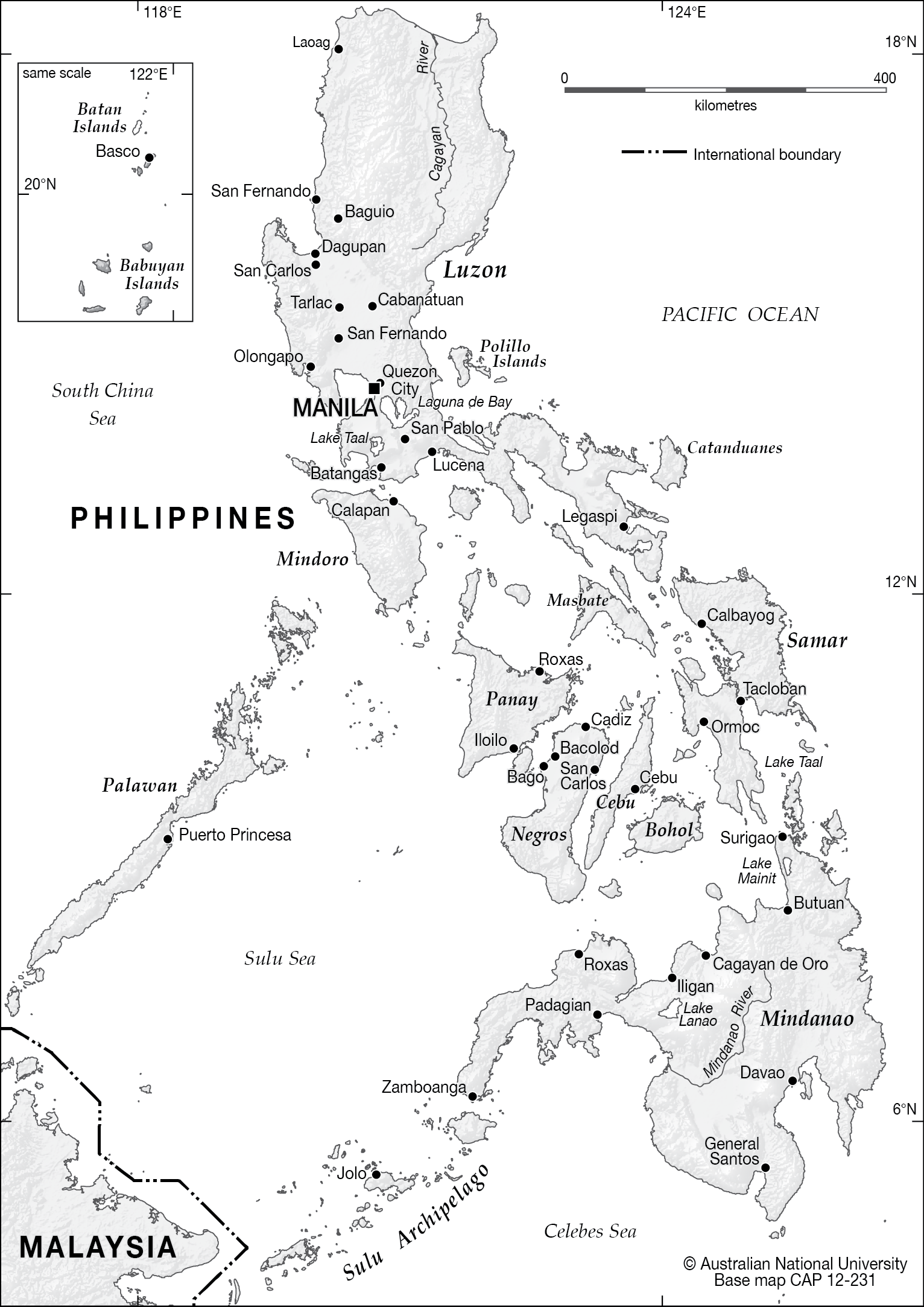 philippine map clipart black and white - photo #13