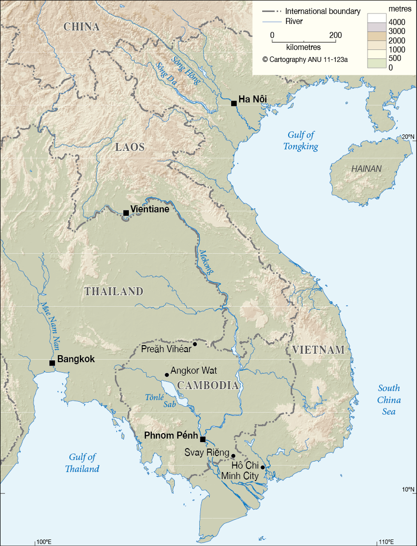 Cambodia Laos Vietnam - CartoGIS Services Maps Online - ANU on map of hong kong and vietnam, map of india and vietnam, map of indonesia and vietnam, map of asia and vietnam, map of singapore and vietnam, map of vietnam and china, map of korea and vietnam, map of cambodia and vietnam, map of france and vietnam, map of philippines and vietnam, map of guam and vietnam, map of indochina and vietnam, map of thailand and vietnam, map of world and vietnam, map of australia and vietnam,