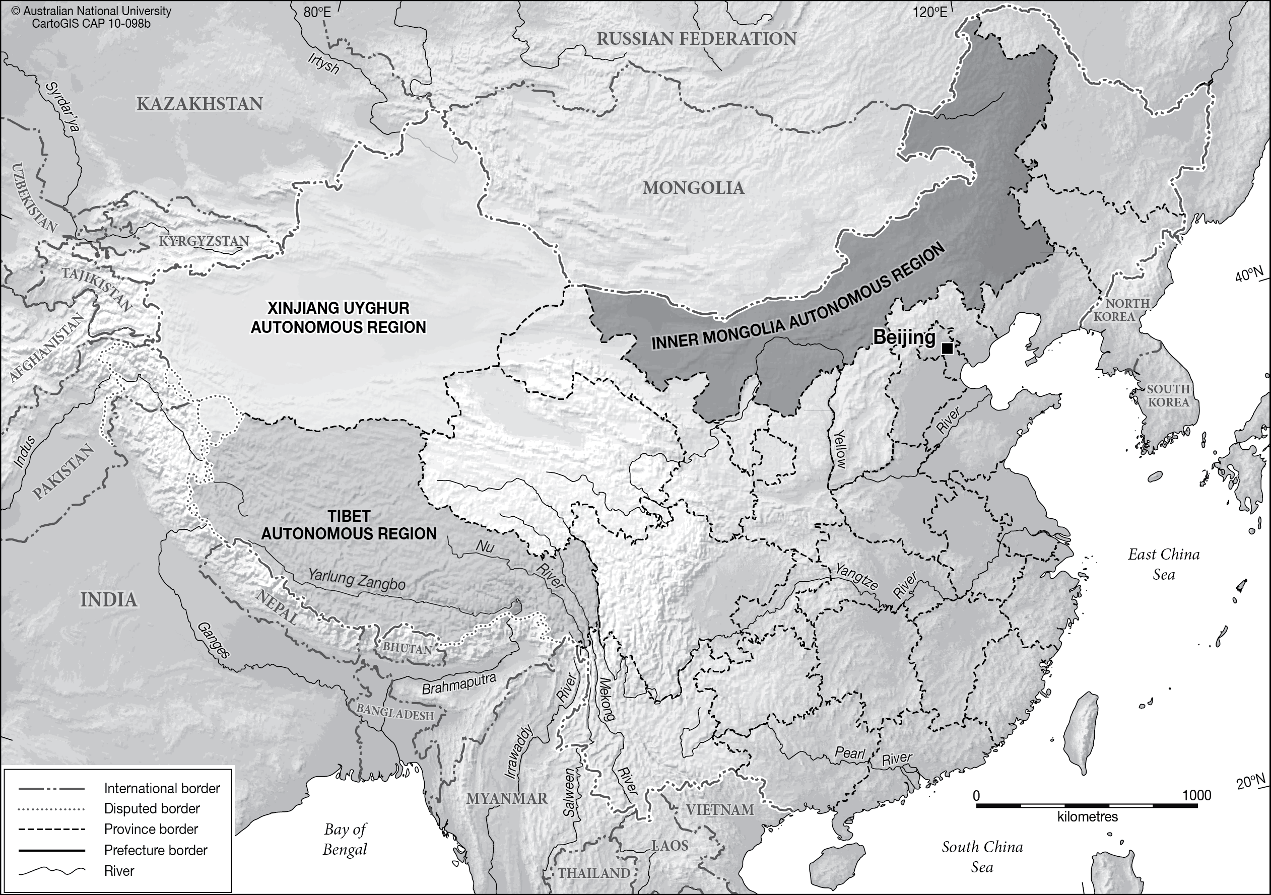 China - autonomous regions - CartoGIS Services Maps Online - ANU on rise of china, religion of china, leader of china, special economic zones of china, terracotta warriors of china, sixy of china, landforms of china, great firewall of china, women of china, dictator of china, relief map of china, population density of china, japanese occupation of china, fashion of china, natural resources of china, is tibet part of china, empress wu of china, political parties of china, shape of china,