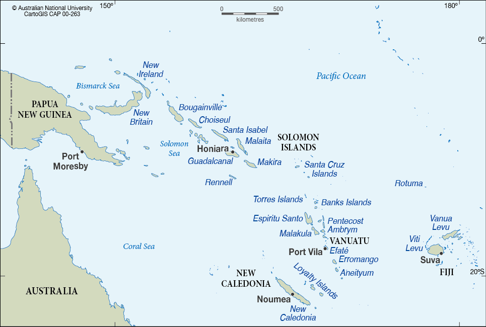 Oceania subregion melanesia cartogis services maps online anu map png gumiabroncs Images