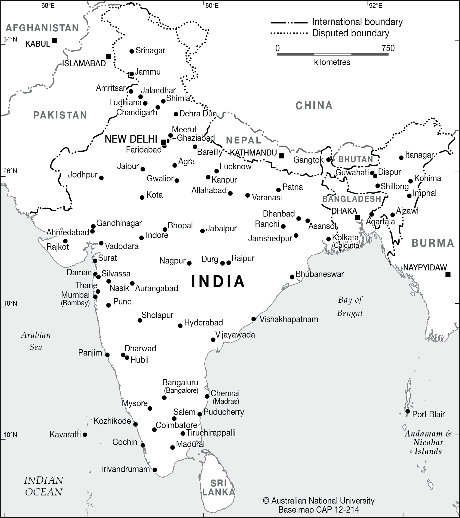 India Base Cartogis Services Maps Online Anu