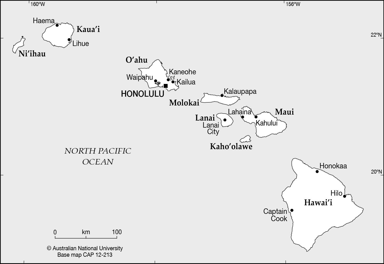Hawaii Base Cartogis Services Maps Online Anu