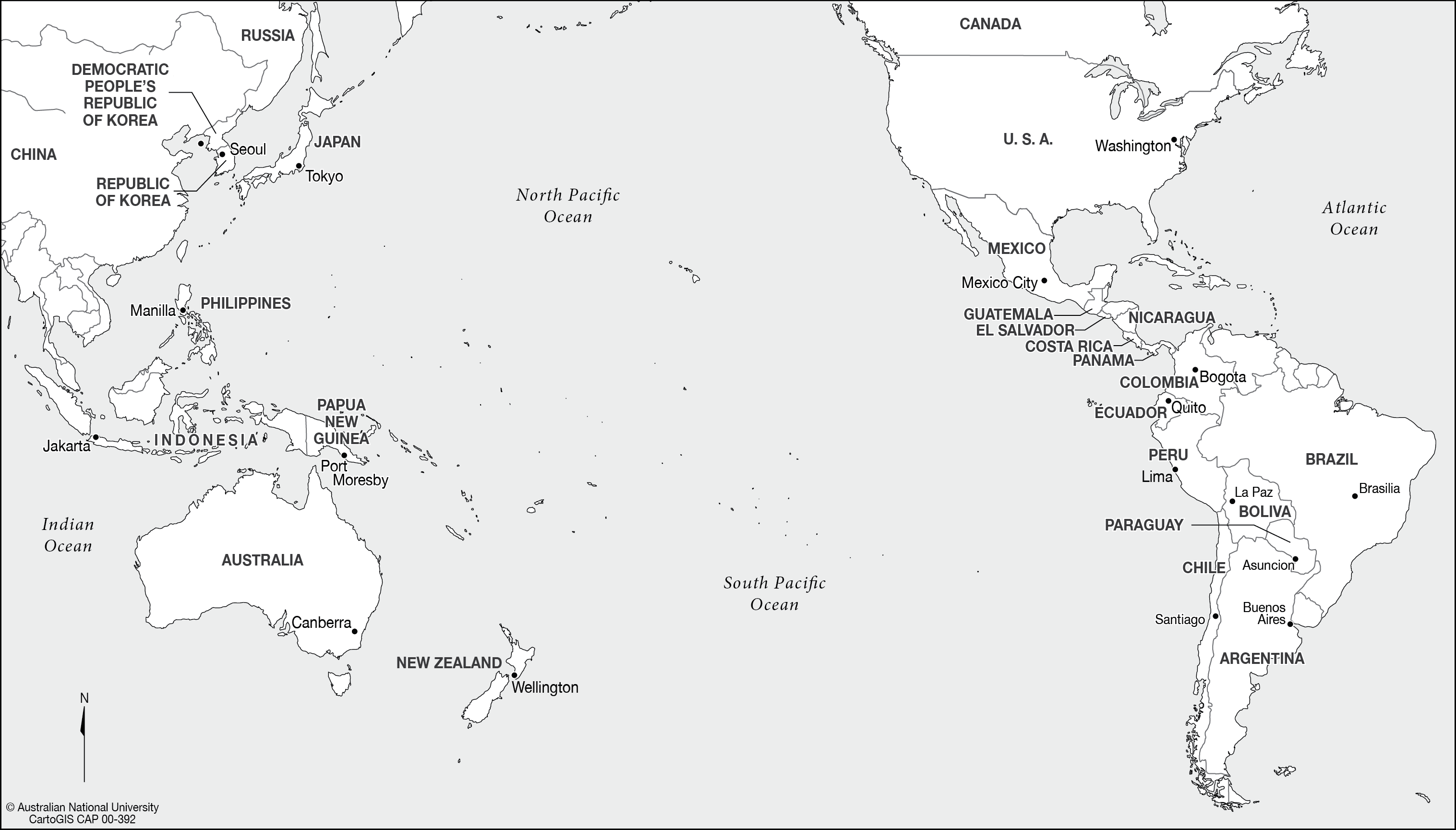 Countries bordering pacific ocean cartogis services maps online map png gumiabroncs Images