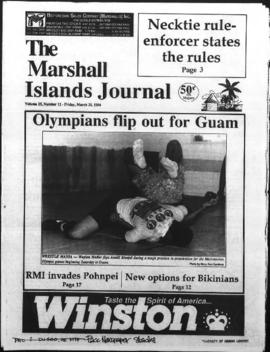 The Marshall Islands Journal, vol. 25, 12-15