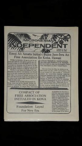 Micronesian Independent, vol.11, no.2-5 and 11