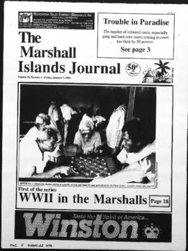 The Marshall Islands Journal, vol. 25, 1-5