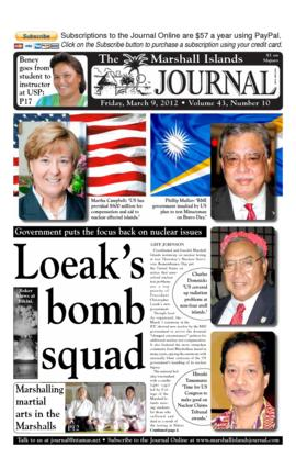 The Marshall Islands Journal, vol. 43, 10-17