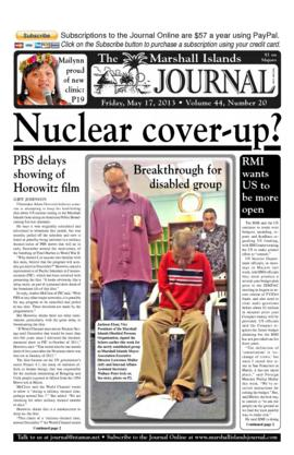 The Marshall Islands Journal, vol. 44, 20-27