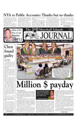 The Marshall Islands Journal, vol. 42, 32-39