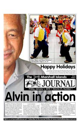 The Marshall Islands Journal, vol. 41, 1-14