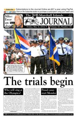 The Marshall Islands Journal, vol. 43, 18-26