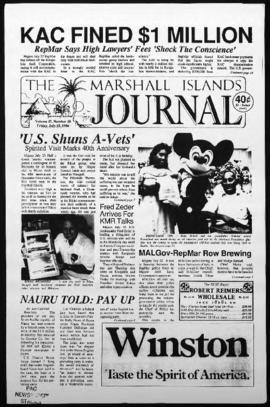 The Marshall Islands Journal, vol. 17, 30-35