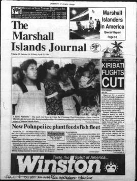 The Marshall Islands Journal, vol. 25, 16-19