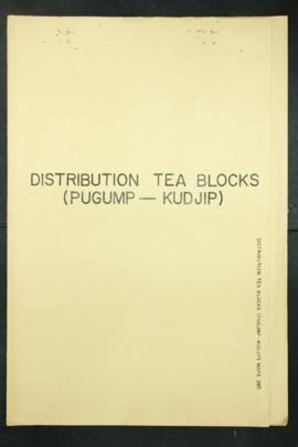 Report Number: 285 Pugump-Konjip Distribution of Tea Blocks. [Map only.] Includes map with scale ...