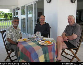 [Suva] Brij Lal, Chris Gregory , Bill Gammage