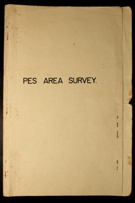 Report Number: 414 Pes Area Survey. P. Emery & P. Aland, 'Pes (Siaute Purchase Area). Lo...