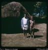 """Pyata and his mother - her house at Manduwasa, on way to Elyanda clinic."""