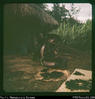"""At Jukuna - on way back from caves. Preparing wig for sing-sing 2 weeks hence. Will sleep o..."