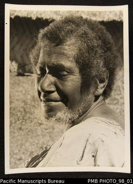 Hebridean village woman. New Hebrides