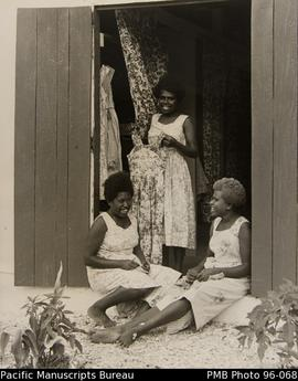 Girls at Ebuli hostel, Onesua