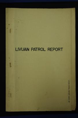 Report Number: 187 Extract from Patrol Report, Livuan Council Area, Rabaul S.D., No.19(N3) 61/62,...