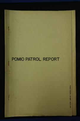 Report Number: 188 Extract from Patrol Report No.25/62-63 Pomio, 13pp.