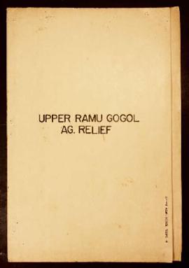Report Number: 4 Upper Ramu Gogol Ag. Relief. Proposed Agricultural Station Site - Madang Area.  ...