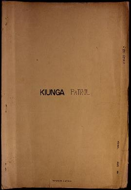 Report Number: 88 Patrol Report Ag. P/R No.3 of 1962-63, Lake Murray and Kiunga areas in the Kiun...