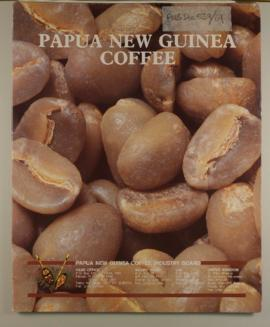 Coffee Industry Corporation, leaflets: Green Gold: the Coffee Industry in Papua New Guinea, n.d.C...