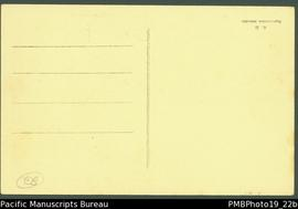 Reverse of PMB Photo 19-22a