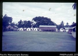 Dining Hall and students' huts, Tangoa