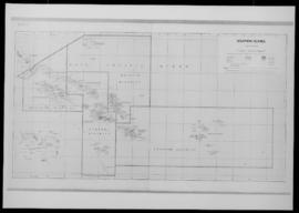 Map. Solomon Islands, Honiara, Ministry of Agriculture and Lands, Lands Division, Edition 5, 1976...