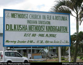 Dilkusha [Methodist Church in Fiji & Rotuma Indian Division, Dilkusha Methodist Kindergarten]