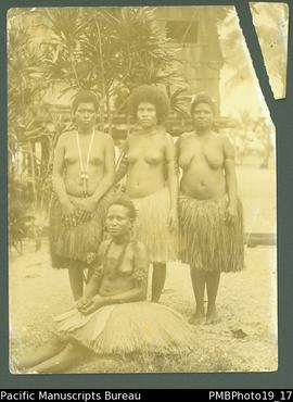 Four Papua New Guinean women.