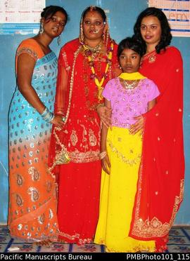 [Suva Wedding Savita, flowergirl and relatives]