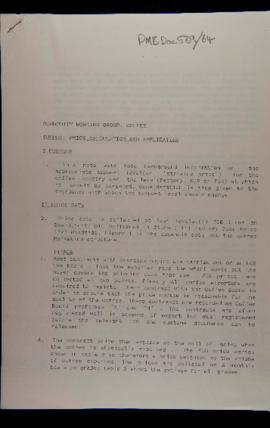 Commodity Working Group, Coffee Support Price Calculation and Application, 14 Jan 1991, Ts., 12pp...