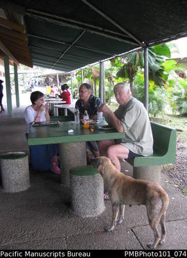 Suva University of the South Pacific (USP)  lunch